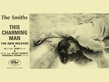 "The Smiths THIS CHARMING MAN 16"" x 12"" Photo Repro Promo  Poster"