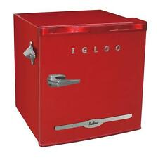 Igloo Vintage Retro  Mini Refrigerator Fridge Compact w/ Side Bottle Opener