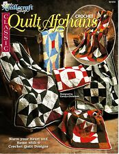 Classic Quilt Afghans by Carolyn Christmas (1993, TNS Crochet Booklet)