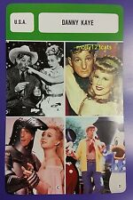 US Singer Dancer Comedian Walter Mitty Actor Danny Kaye French Film Trade Card