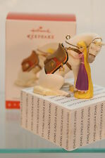 A GIRL'S BEST FRIEND~2016 HALLMARK ORNAMENT~DISNEY RAPUNZEL~FREE SHIP IN US