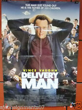 "DELIVERY MAN {VINCE VAUGHN} 40x27"" Original Movie Poster 2000s"