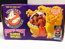 Vintage Real Ghostbusters Sludge Bucket Action Figure with Beat Up Box Kenner