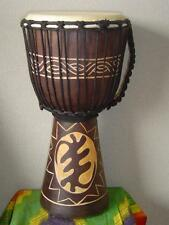 SALE ! 20 x 11 Djembe Bongo Drum GOD FIRST - Model M12 + FREE COVER