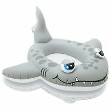 SHARK Childrens Inflatable Swimming Pool Water Cruiser Ride On Boat Float TY9588