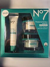 Boots No7 Protect & Perfect Intense Skincare System Exp 2018 New