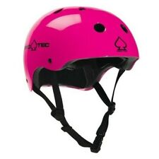 NEW PROTEC THE CLASSIC SKATEBOARD BMX HELMET GLOSS PUNK PINK SIZE XL 59-60cm