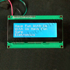 Arduino IIC/I2C 2004 20×4 Character LCD Module LCM White On Blue Blue Backlight