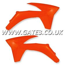 KTM 250XC XC 250 2011-2012 ORANGE RADIATOR RAD SCOOPS ENDURO CROSS COUNTRY