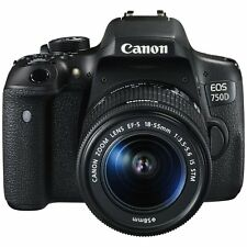 Canon EOS 750D 24.2MP DSLR Camera with EF-S 18-55 IS STM Lens (SMP3)