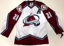 PETER FORSBERG COLORADO AVALANCHE STARTER AUTHENTIC JERSEY SIZE 56 NEW W/ TAGS