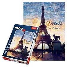Trefl 1000 Piece Adult Eiffel Tower Paris Large Dawn View Floor Jigsaw Puzzle