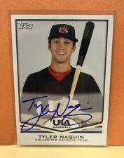 Tyler Naquin RC Auto 2011 Topps USA Baseball Rookie Autograph Indians