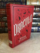 DRACULA by BRAM STOKER Leatherbound Collectible Edition & BRAND NEW!