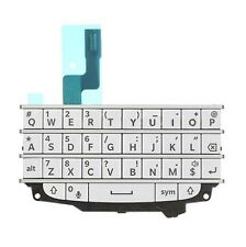 KIT COMPLETO BLACKBERRY Q10 BLANCO TECLADO BOTONES FLEXIBLE MEMBRANA TECLADO
