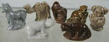 Lot of 7 Vintage Slida Tea Wade Figurines Wild Animals