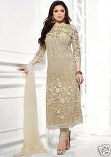 New Traditional Latest Designer Long Beige Color Salwar Suit