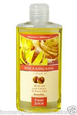 54667 Oil for care & massage Rose & Ilang-Ilang + Peach oil 150ml Fresh Juice