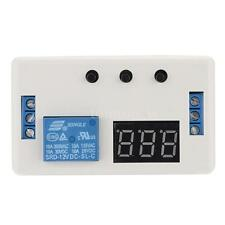 DC 12V LED Automation Delay Timer Control Switch Relay Module PCB with Case E0TD