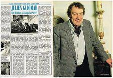 Coupure de presse Clipping 1986 (4 pages) Julien Guiomar
