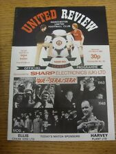 12/03/1983 Manchester United v Everton [FA Cup] . Unless previously listed in br