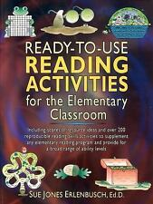 J-B Ed Ready-To-Use Activities Ser.: Ready-to-Use Reading Activities for the...