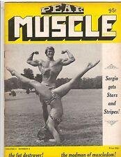 PEAK MUSCLE bodybuilding magazine/Ellington Darden+Lawanna Glass vol II #9