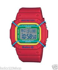 BGD-501-4B Red Baby-G Casio Lady Watches Resin Band Digital Brand-New 200m