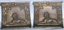 Egyptian Revival Book Ends