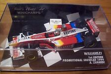 1/43 WILLIAMS 1999 PROMO + CASTROL FW21 ALEX ZANARDI