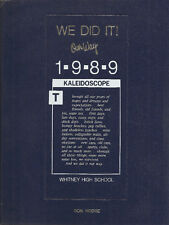 Whitney High School Yearbook 1989 Cerritos, CA (Kaleidoscope)