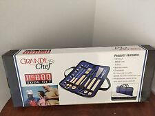 Grande Chef 11 Pc BBQ Tool Set with carrying case