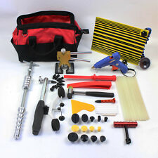 Slide Hammer Dent Puller Kit Paintless Dent Removal Hail Damage Repair PDR Tools