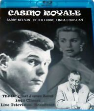 Casino Royale Barry Nelson 1954-Two versions- Blu Ray & DVD