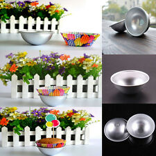 New Ball Stainless Steel Sphere Bath Bomb Cake Pan Bake Mold Pastry Mould ITBC