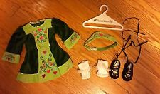 RETIRED American Girl Nellie's Irish Step Dance Outfit Excellent Pleasant Co