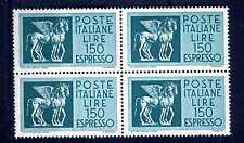 ITALIA REP. - Espressi - 1968/1976 - Cavalli alati - 150 L. QUARTINA. E4147