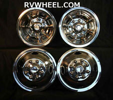 "87 88 Dodge 16"" 8 lug motorhome hubcaps rv simulators"
