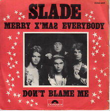 "7"" 45 TOURS FRANCE SLADE ""Merry X'Mas Everybody / Don't Blame Me"" 1973"