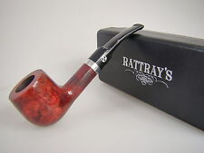 Rattray's Pfeife Red Lion Bordeaux Rot Glatt 60 9mm Filter #1795