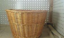 Bell wicker bike basket