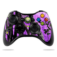 Skin Decal Wrap for Microsoft Xbox 360 Controller sticker Purple Tree Camo