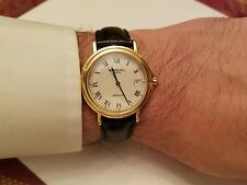 Raymond Weil 2834 Automatic Mens 18k Gold Plated 25 jewel