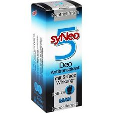 syNeo  5   Man   Roll on Deo Antitranspirant   50 ml   PZN 9100826