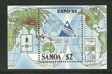 Album Treasures Samoa Scott # 654  Japan Expo '85 Mint NH