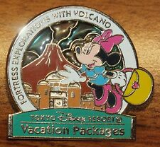 Tokyo Disney Resort Vacation Packages Fortress Exploration w/Volcano Pin *READ*
