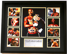 New Evander Holyfield Signed Limited Edition Memorabilia