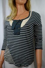 Anthropologie Pilcro & the Letterpress Sailor Striped Top Size Small