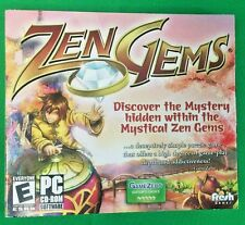 Zen Gems PC CD-Rom Software Rated E New Sealed