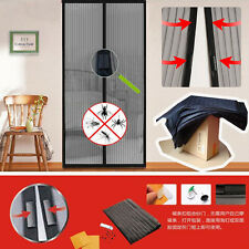 NEW Mesh Insect Fly Bug Mosquito Door Curtain Net Netting Mesh Screen Magnets LO